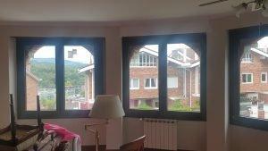 Pvc Kömmerling ventanas Redondas, echas cuadradas